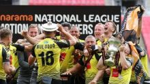 Harrogate promoted to Football League for first time with play-off final win over Notts County