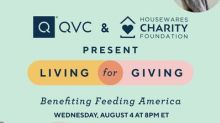 QVC's Long-time Commitment To Community Continues With Newly-forged Fundraising Campaign Living For Giving Benefiting Feeding America®