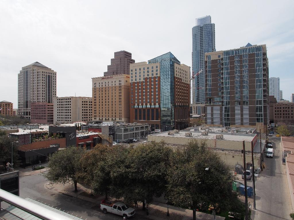 General view of downtown Austin, Texas