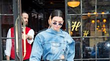 Kendall just wore the most bizarre denim jacket