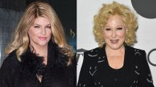 Kirstie Alley accuses Bette Midler of 'pure and REAL racism' for joking about black Trump supporters
