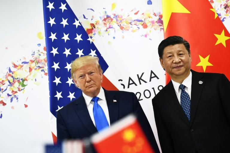 The biting trade war with the United States has eroded confidence and hit the Chinese economy hard (AFP Photo/Brendan Smialowski)