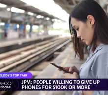 How much would someone have to pay you to give up your device for a month?
