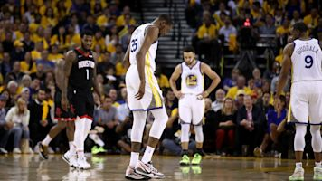 Durant initially thought he tore his Achilles