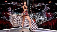 Kendall Jenner Was Covered in Plaid on the Victoria's Secret Runway