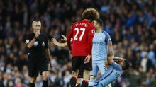 Manchester derby 2016-17 highlights: Fellaini red card the talking point as City and United play out stalemate