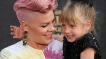 Pink's Daughter, Willow, LOVES Being a Big Sister