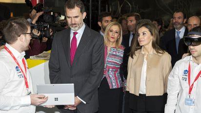 La reina Letizia luce con más peso y esas libritas le sientan fenomenal