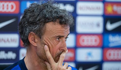 Primera Division: Medien: Bruch zwischen Enrique und Barca-Kader