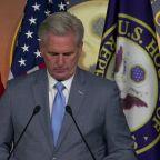 McCarthy defends Mulvaney's quid pro quo walk-back