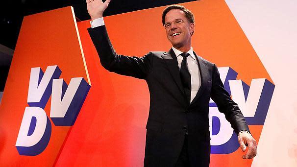 Niederlande Hochrechnungen