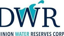 Dominion Water Reserves Announces Portfolio of 10 Freshwater Reserves With Increased Volume Under Permit Following Consolidation of Aquanor