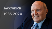 Jack Welch, legendary former GE CEO, dead at age 84