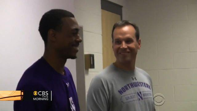 Northwestern basketball player earns scholarship for final year