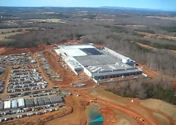 Apple tells shareholders North Carolina data center is for iTunes and MobileMe, set to open this spring