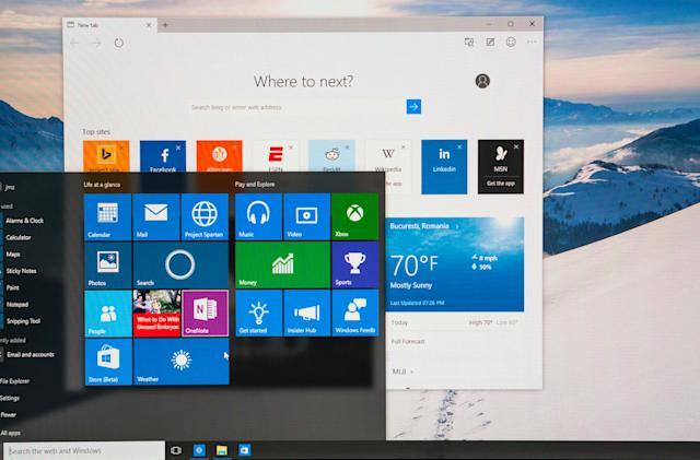 Latest Windows 10 preview brings Edge browser extensions