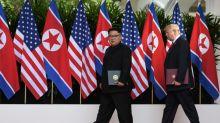 World can 'sleep well' after N.Korea summit, Trump says