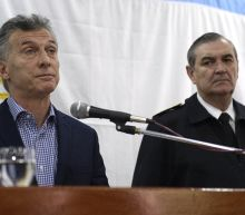 Argentina navy chief sacked over sub tragedy