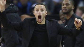 Steph a believer in out-of-this-world conspiracy