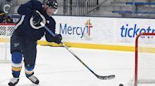 Blues' Barbashev heads back to St. Louis for birth of first child