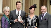 Andy Murray: Drug tested the day Prince William honored me