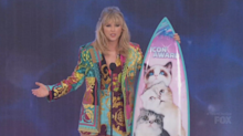 Taylor Swift uses Teen Choice Icon Award speech to urge fans to stand up for gender equality