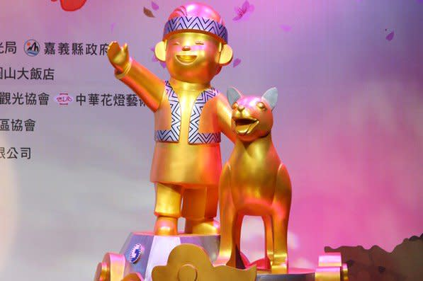 2018台灣燈會主燈高達21公尺。(圖/2018台灣燈會在嘉義,以下同)