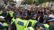 Man, 73, arrested as thousands descend on Trafalgar Square for 'anti-lockdown' protest