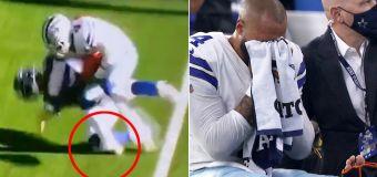 NFL rocked by sickening injury during game