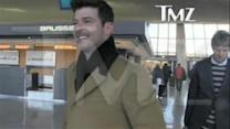 Robin Thicke on Wife: 'Trying to Get Her Back'