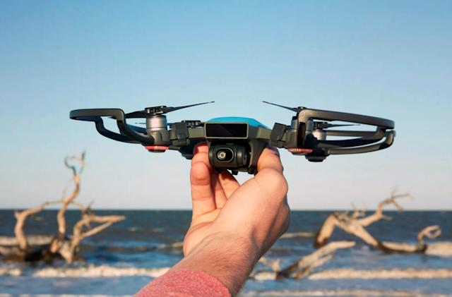 You can fly DJI's cutesy Spark drone with hand gestures