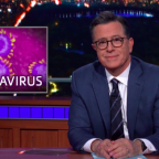 Coronavirus: Stephen Colbert and Trevor Noah poke fun at deadly virus