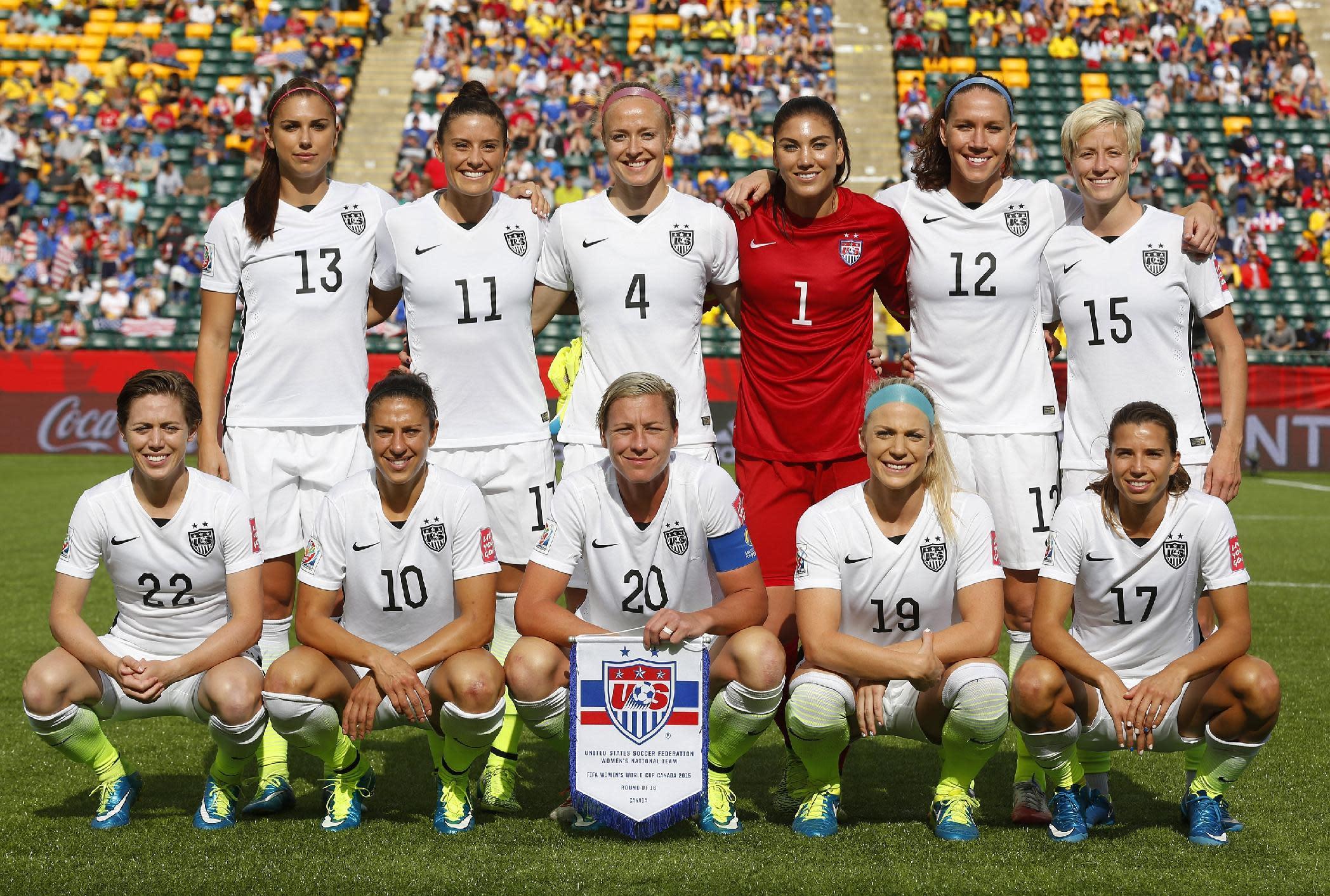 united states female soccer team