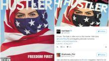 La revista Hustler enciende Internet con otra polémica portada