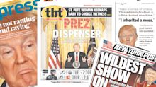 'Wildest show on earth': Newspapers cover Trump's grievance-filled press conference