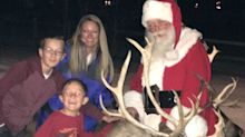 After Santa loses his truck in a fire, locals campaign to buy him a new one