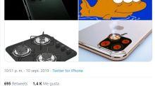 Las tres cámaras traseras del iPhone 11 desatan las comparaciones y una lluvia de memes