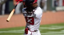Acuña hits 2 HRs as surging Braves beat struggling Nats 7-1