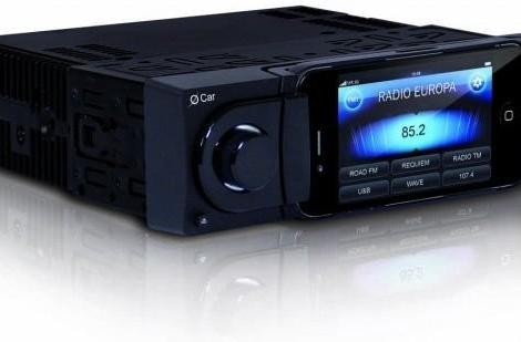 Oxygen Audio's O Car deck turns your iPhone into a car stereo