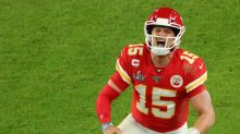 Patrick Mahomes wins 2021 Laureus World Breakthrough of the Year award