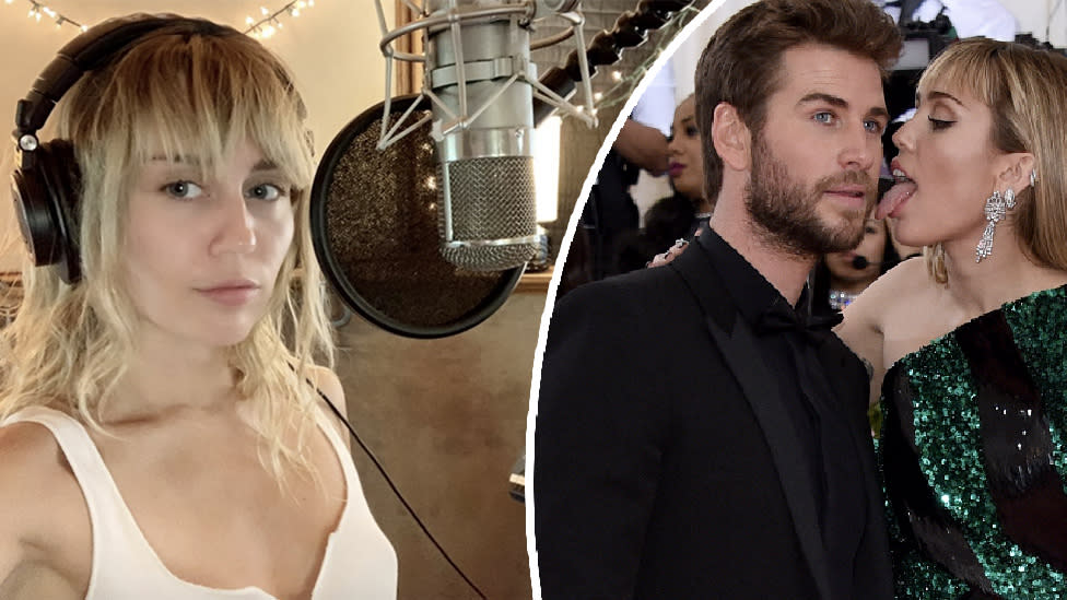 Miley Cyrus talks 'whiskey and pills' in post-Liam breakup song