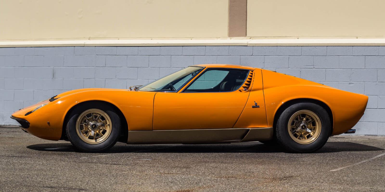 Adam Carolla Is Selling 4 3 Million Of Vintage Lamborghinis
