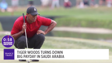 Tiger Woods turns down big payday in Saudi Arabia