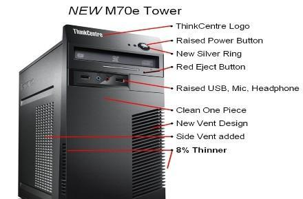 Lenovo's M70e and A70 desktops are coming soon to a cubicle near you