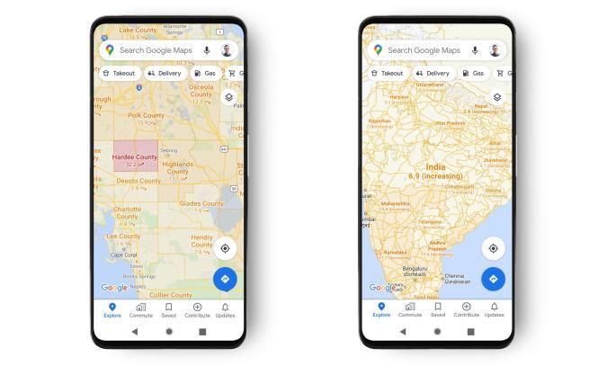 smartphones with google maps