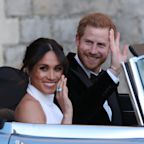 Meghan Markle and Prince Harry Share Never-Before-Seen Royal Wedding Photos in Honor of First Anniversary