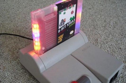 This '8-bit Xmas' NES cart makes your heart, NES glow