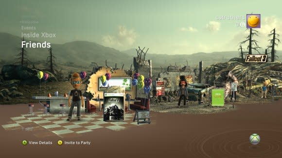 Fallout 3 premium theme available now, free to loyal DLC buyers