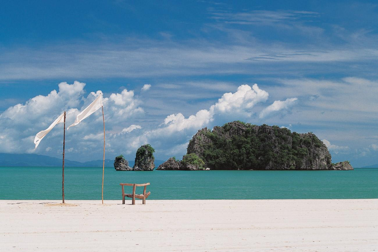 """The shores of the Andaman Sea are provide the secluded location for this honeymoon. The five-star <a href=""""http://www.tanjungrhu.com.my/"""" target=""""_blank""""><b>Tanjung Rhu Resort</b></a> in Langkawi has rustled up a new all-inclusive seven-night """"Romance"""" package that will put you in the loving mood, with beach dining at private Champagne barbecues under the stars and couples spa treatments. Together you'll be able to explore the beautiful surrounding mangroves with the resident naturalist, home to monkeys and feeding ground to white-bellied sea eagles. Or walk hand in hand across the sand bar at low tide to discover ancient uninhabited limestone islands. Packages start from £2,120 per person with <b><a href=""""http://www.azurecollection.com/"""" target=""""_blank"""">Azure</a></b>."""