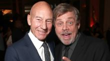 Mark Hamill and Sir Patrick Stewart face off over tomatoes in new Uber Eats ad
